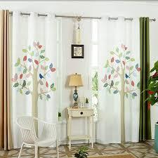 Gwell Kinderzimmer Vorhang Baum ösenschal Dekoschal Wohnzimmer