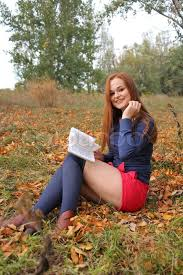 beautiful girl book. Exellent Beautiful Young Beautiful Girl With Red Hair Reading A Book  Stock Photo Colourbox To Beautiful Girl Book I