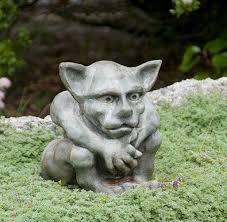 queydo um gargoyle meval concrete statue for garden