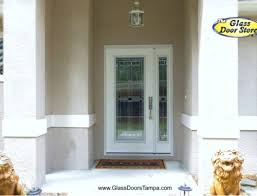 single front doorsInstall a new front door with an active sidelight
