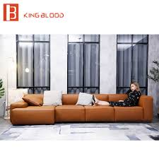 Design Of Sofa Set For Drawing Room Us 2300 0 L Shape New Model Designs For Drawing Room Sectional Leather Sofa Set In Living Room Sofas From Furniture On Aliexpress