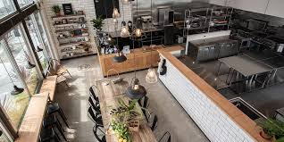 to commercial kitchen space