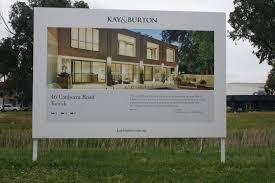Real Estate Board Design Kay Burton E3 Prestige Board Real Estate Sign Design Real