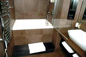 modern tub shower combo combined bath and large size of in idea bathtub bathroom ideas small
