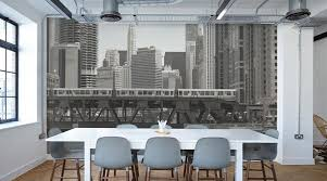 Best Wall Murals for Industrial themed living spaces