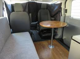 swivel seat and pedestal table in 2016 ford transit lr