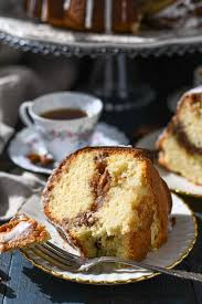 Photos of pecan sour cream coffee cake. Sour Cream Coffee Cake With Cinnamon Streusel The Seasoned Mom