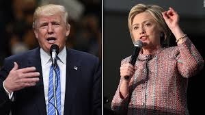 Image result for trump/clinton