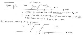 power capacitor large size write equation for the periobic cur ipt chegg com find rms value