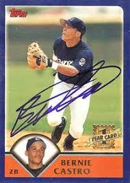 Bernie Castro Trades and Transactions by Baseball Almanac