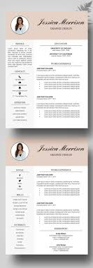 Best Creative Resumes Top Modern Resume Template Word Creative Resume Template Modern CV 8