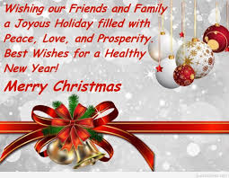 christmas and new year blessings quotes