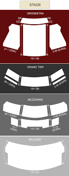 New York City Center Seating Chart View New York City Center Mainstage New York Ny Seating Chart