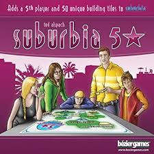 Bezier Games Suburbia Five Star Expansion: Toys ... - Amazon.com