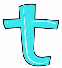Afbeeldingsresultaat voor letter t