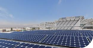 solar panels rooftop commercial