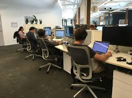 sydney office. Every Desk Is Fitted With An Electric Height-adjustment Mechanism And Goes From Standing Height To Sitting Height. The Range Works For Short Or Tall Sydney Office