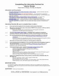 Unpaid Internship Agreement Template. Student Agreement Contract ...