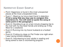 i need to write a narrative essay writing a narrative essay