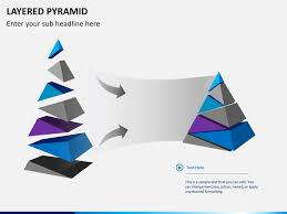 Pyramid Powerpoint Layered Pyramid Powerpoint Sketchbubble