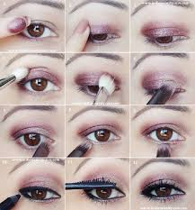 the rule for hooded eyes stands that you should use only mat colors and shouldn