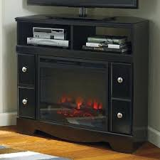 corner tv stand with fireplace decoration corner stand fireplace corner stand w fireplace intended for fireplace