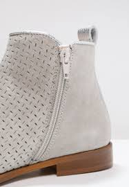 Light Gray Chelsea Boots Lamica Winton Ankle Boots Marmo Bossato Metal Argento