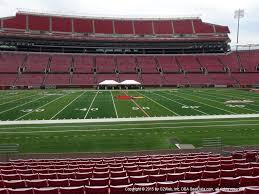 Cardinals Football Seating Chart Cardinal Stadium View From Lower Level 131 Vivid Seats