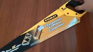 <b>Ножовка</b> 1-15-416 <b>Stanley</b> по <b>дереву</b> 500 мм с крупными зубьями ...