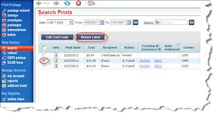 Online Shipping Labels How To Easily Create Return Shipping Labels Stamps Com Blog
