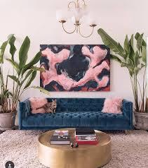 "Living Room Interior Design Pinterest Inspiration ⠀⠀ RANDI MAGELI Randimageli No Instagram "" Blues Blush And"