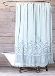 blue white shower curtain blue and white shower curtain target