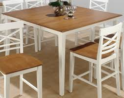 White Wood Kitchen Table Sets Modern Solid Wood Dining Table Dining Room