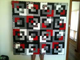 Red And Black Quilt Patterns Red And Black Quilt Kit Red And Black ... & Red And Black Quilt Patterns Red And Black Quilt Kit Red And Black Quilt  Cover Black Adamdwight.com