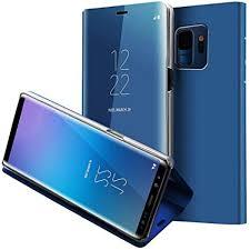Galaxy S9 Case,WATACHE S-View Window Makeup ... - Amazon.com