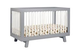 babyletto hudson in convertible crib with toddler rail – lusso