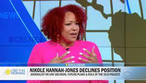 Why Nikole Hannah-Jones turned down UNC ...