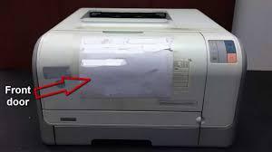 Hp Color Laserjet Cp1215 Printing Problemsl