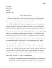 a clean well lighted place documents course hero a clean well lighted place docx