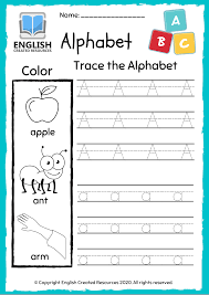 For more coloring pages, check the mes coloring main page. Alphabet A Z Worksheets Tracing And Colouring Book