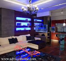 led lighting living room. delighful lighting gray stone wall and white sofa design with led light in shelves living  room 150x150 with led lighting living room