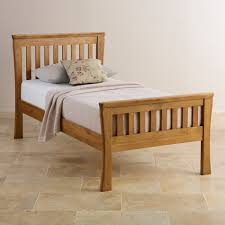 Single Bedroom Orrick Single Bed Solid Oak Oak Furniture Land