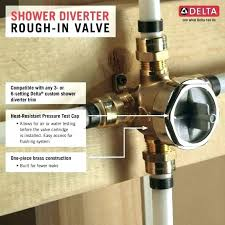 how to install delta shower faucet how to install delta shower valve rough in delta shower