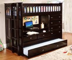 bunk bed with trundle and drawers.  And 2952  In Bunk Bed With Trundle And Drawers N