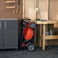 outdoor lawn mower storage outdoor storage cabinet for deck lawn mower garage storage diy outdoor lawn