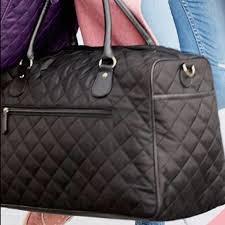 40% off Ulta Handbags - Quilted weekender bag, purple. NWT. from ... & Quilted weekender bag, purple. NWT. Adamdwight.com