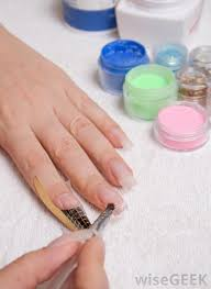 what is acrylic nail powder with