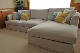 ... couch, Comfy Couches White Fabric Design Modern L Shape And Unique  Colored Box Cushion: ...