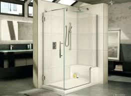 walk in shower with bench height dimensions designs