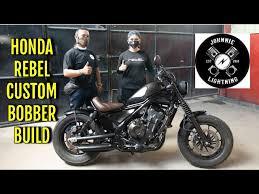 custom honda rebel i bobber build you